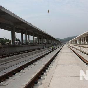 成贵铁路兴文站加快建设 10月迎来试运行