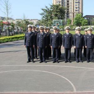宜宾海事局积极开展半军事化训练