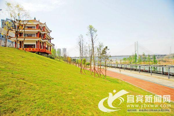 长江公园是传播宜宾历史文化,展示城市建设成果及城市魅力的重要窗口。(宜宾新闻网 陈忆 摄)
