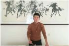齐派青年水墨画家于瑞波——国画界耀眼的新星