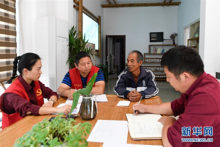 (社会)(3)浙江安吉: 干部下基层 聚合力为群众解困